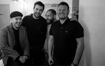 Maff Brown Comedian With Jack Whitehall and Friends